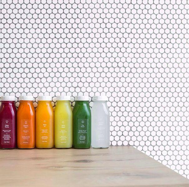 // Greenhouse Juice Branding—Sarah Dobson