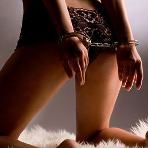 As soon as these go on, you belong to me. Every inch of you, every curve, every whimper, every moan, is mine and mine alone.