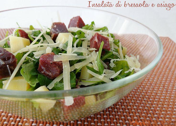 Insalata di bresaola con rucola e asiago ricetta insalata estiva bresaola