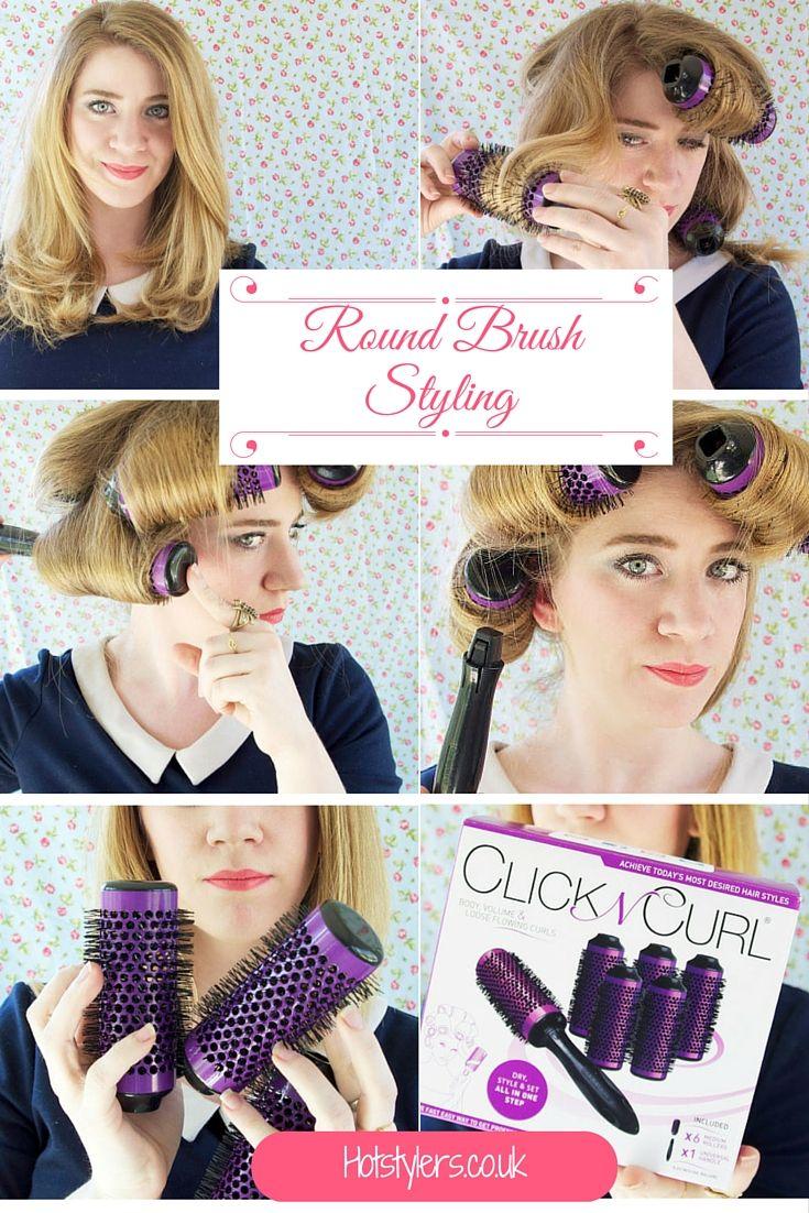 Round brush styling