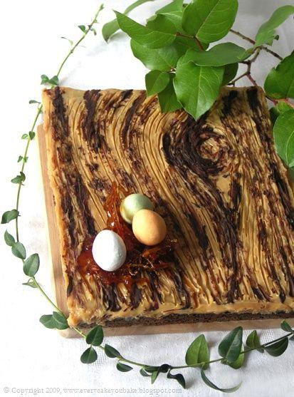 "Every Cake You Bake: Mazurek makowo-kajmakowy ""deska"""