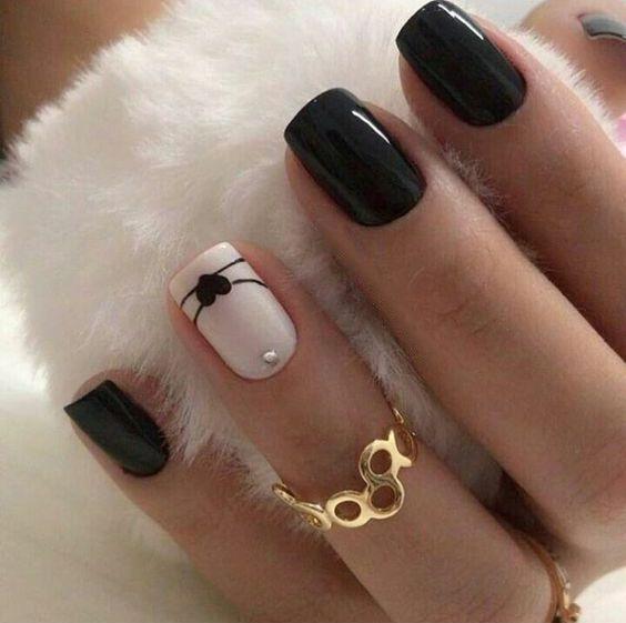 Nägel; Natürliche Nägel; Einfarbige Nägel; Acrylnägel; Süße Nägel, Hochzeitsnägel … – Nails