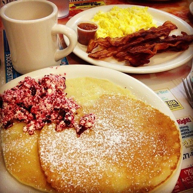 Swedish Pancakes at Silver Dollar Pancake House. Good eats!