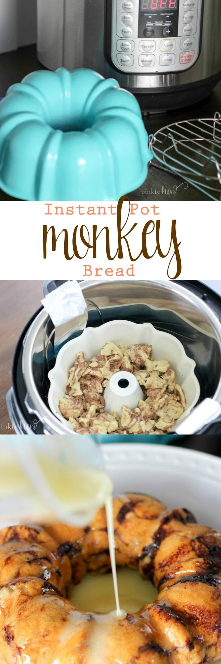 This easy Instant Pot Monkey Bread recipe is one of our favorite lazy day snacks and a perfect recipe if you are new to pressure cooking. (Bake Goods Crock Pot)