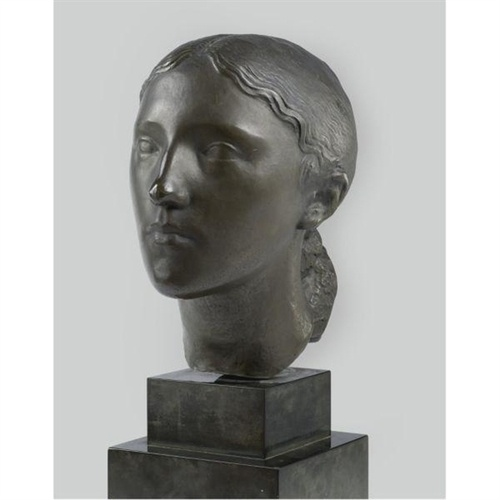 Charles Despiau -  Bust of a Young Peasant Girl
