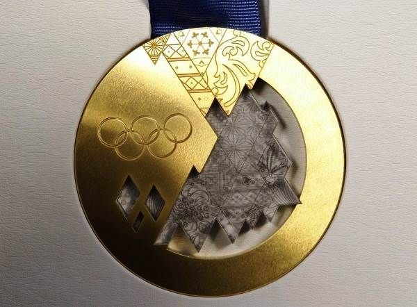 Sochi 2014 Olympics Medals Gold Medal Images