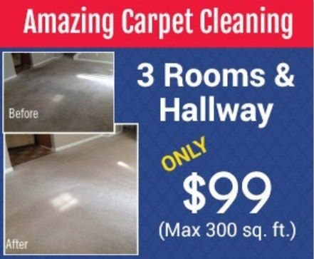Carpet Cleaning Coupon by Above & Beyond Carpet Cleaning | Amazing Carpet Cleaning Services  3 ROOMS & 1 HALLWAY ONLY $99 (Max 300 sq. ft.)   Call (919) 977-6647 Today!   We are known around Raleigh, Wake Forest, Cary, Durham and the Whole Triangle as the most trusted carpet cleaning service.