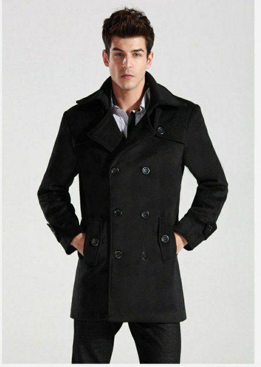 e89a00358 12 Reglas de estilo para escoger un Abrigo que todo hombre debe ...