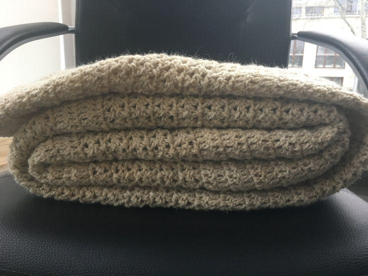Virka handmade wool bed-cover 180 x 220! by VirkaStore on Etsy