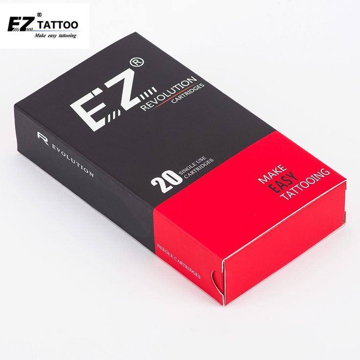 EZ Revolution Tattoo Needles Cartridge Magnum Curved Round Magnum # 12 (0.35 mm )  Long Taper 5.5 mm Tattoo Supply 20 pcs /box #Affiliate