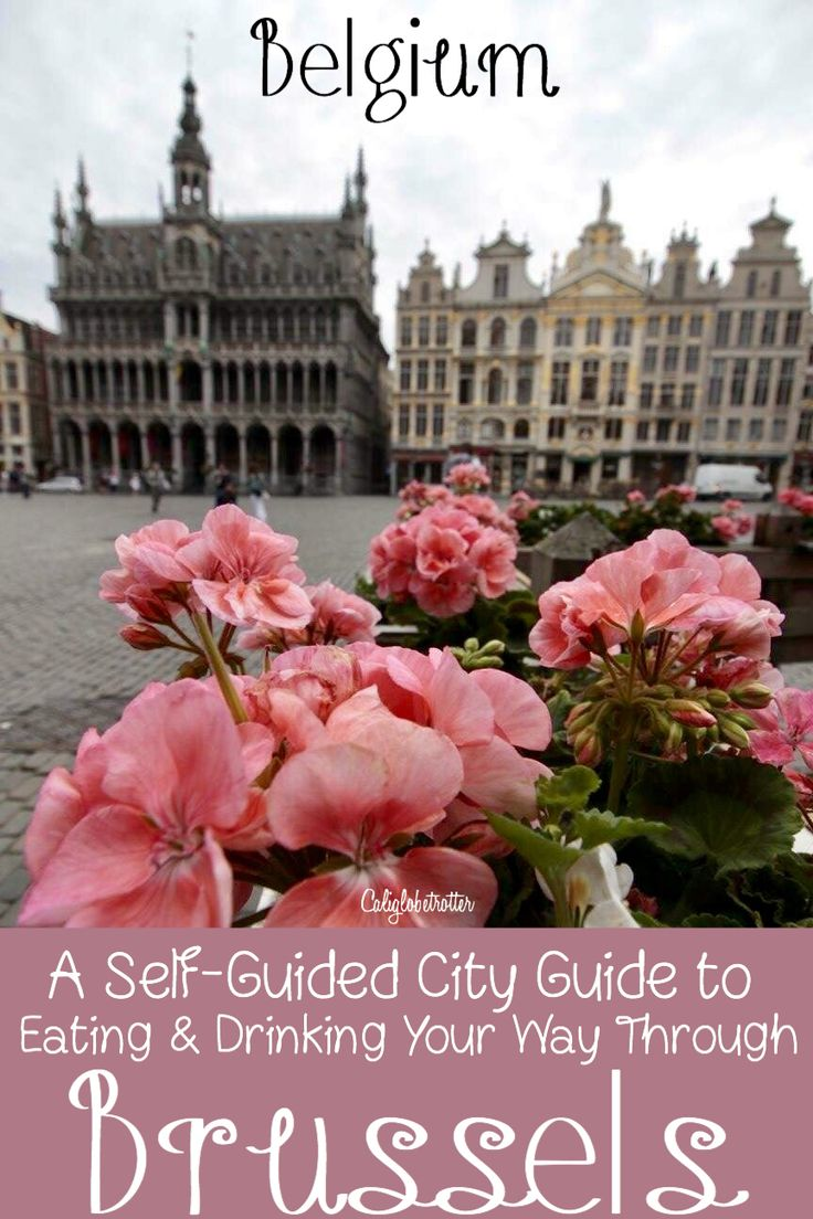 Eating and Drinking Your Way Through Brussels, Belgium! - California Globetrotter