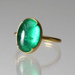 Columbian Emerald Ring,Gabriella Kiss @quadrum