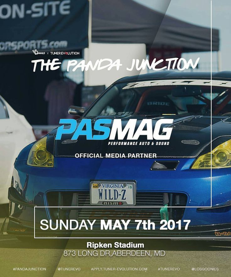 Our contributing photographer @tasimaging will be at the @losgoonies X @tunerevo: Panda Junction at Ripken Stadium in Aberdeen, Maryland this Sunday! See you all soon! #pasmag #tuning365 #losgoonies #tunerevolution #tasimaging