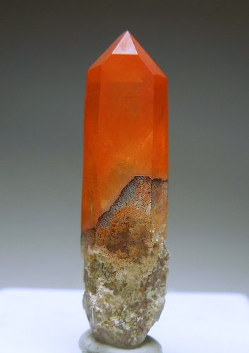 Quartz with micro inclusions of Hematite and Muscovite, Orange River, South Africa