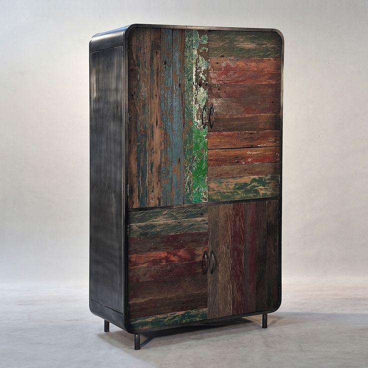 Conosciuto 30 best IDISTUDIO | Mobili di design in legno riciclato images on  RS84