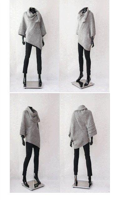 БРОНЬ ДЛЯ _irett_ Мягкий-оригинальный-волшебный свитер из закупки на gmarket. Я покупала за 1500. Ваш - ровно за половину, т.е. 750 руб. Надевала 1 раз. Состав неизвестен, но теплый и не колется - факт. Длина - 80 см. Free size. По ощущениям, рост лучше от 170 и выше, размер не больше 46. Покупала…