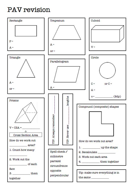 All Worksheets Perimeter Area And Volume Worksheets Printable – Perimeter Area and Volume Worksheets