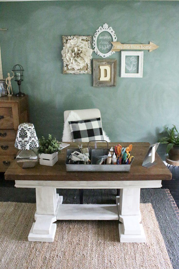home office craft room. home office craft room reveal space supply storage ideas
