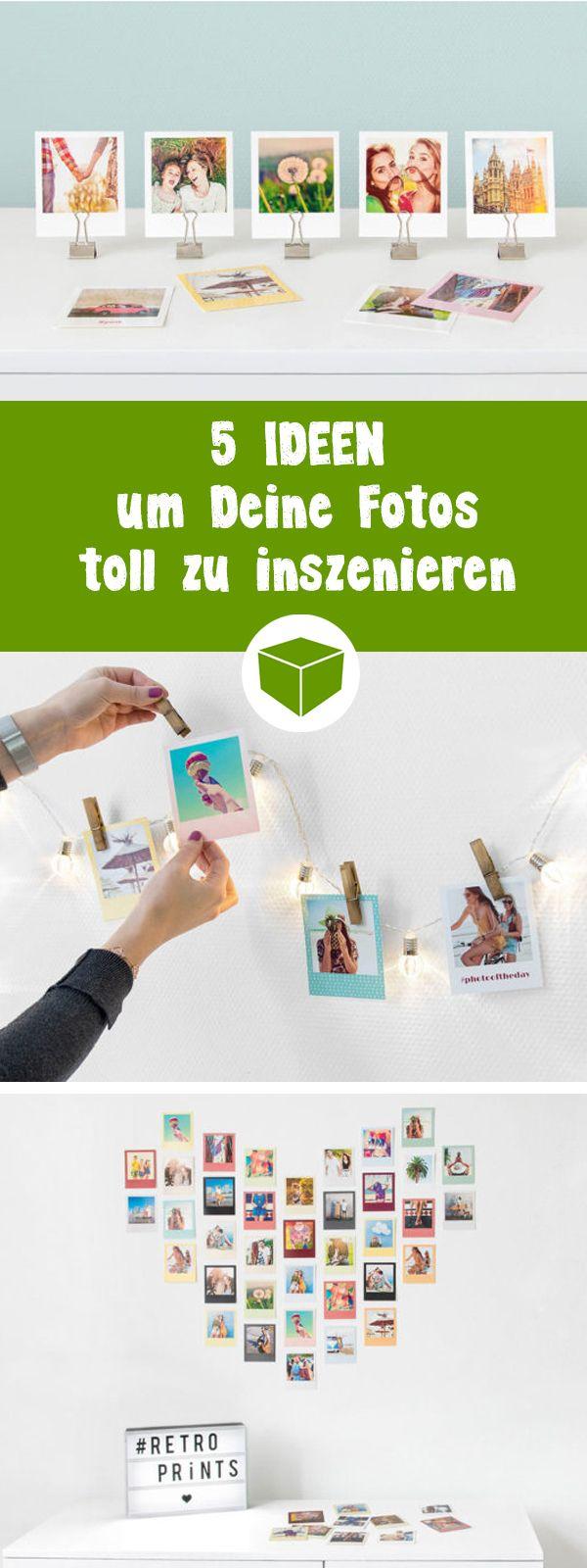 So kannst Du deine Fotos, Abzüge oder Polaroids toll in Szene setzen. Alle Tipps für eine schöne Wandgestaltung findest Du in unserem Magazin.