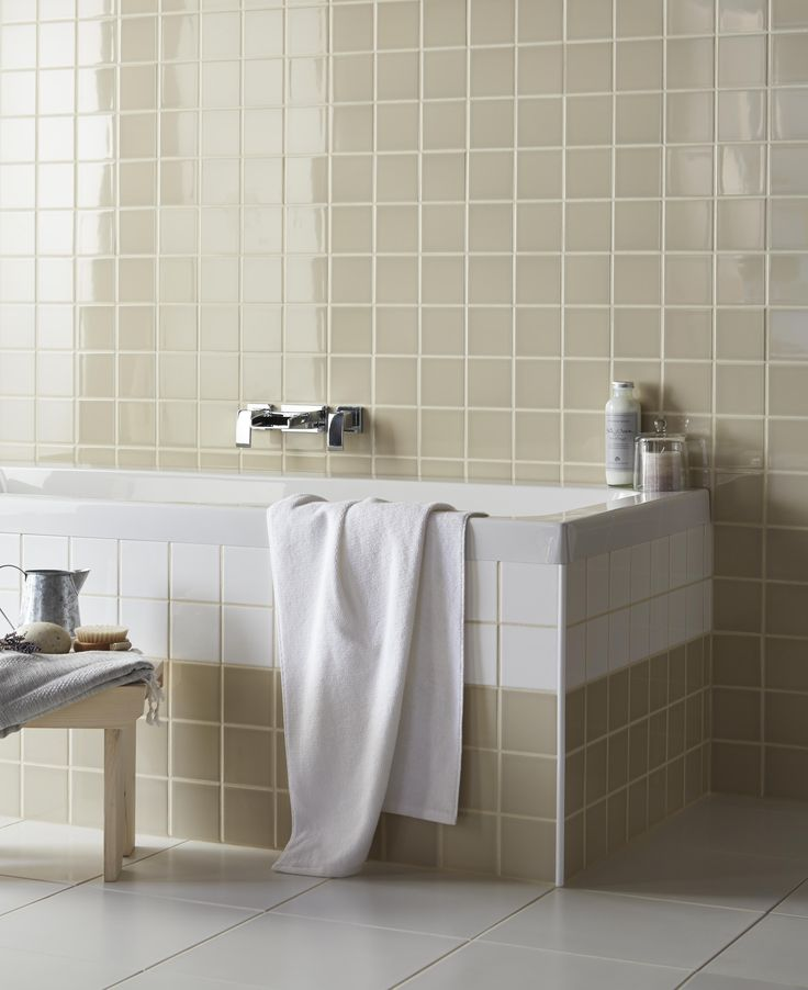 Holborn White Ceramic Wall Tile Pack Of 20 L 250mm W: 54 Best Blissful Bathrooms Images On Pinterest