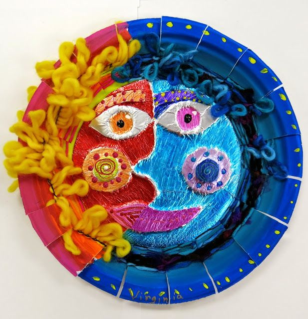 In the Art Room: Mexican Sun/Moon Weavings