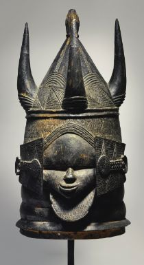 Sherbro Helmet Mask, Moyamba District, Sierra Leone