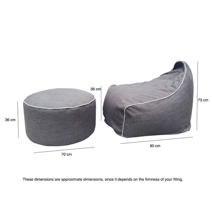 Indoor Beanbag Ottoman Library Furniture Pinterest