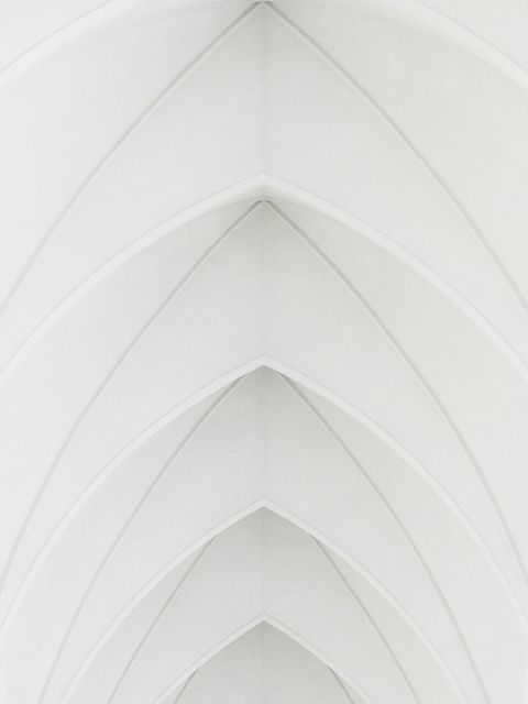 repetition, architecture, church, Archs of Hallgrimskirkja, Iceland, Pixelwiese_Photography, via Flickr