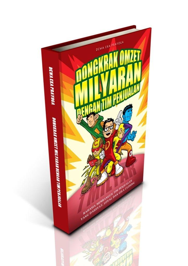 """PRE-ORDER Buku Ketujuh Dewa : Dongkrak Omzet Milyaran Dengan Tim Penjualan """"Rahasia Membangun Tim Penjualan Yang Dahsyat, Loyal & Gila Closing"""" http://yuk.bi/t14c03"""