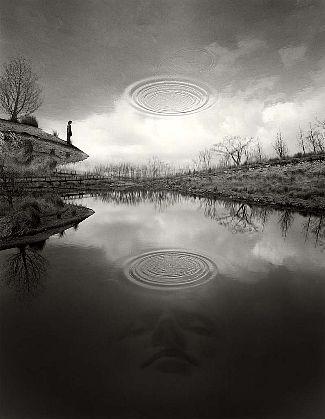 Jerry Uelsmann-'The Edge of Silence'-Telluride Gallery of Fine Art