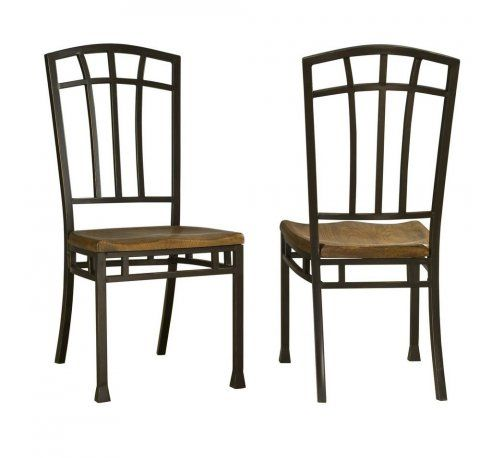 Oak Hill Distressed Oak Dining Chairs Pair  Overstock had but out of stock on 12 28 2016
