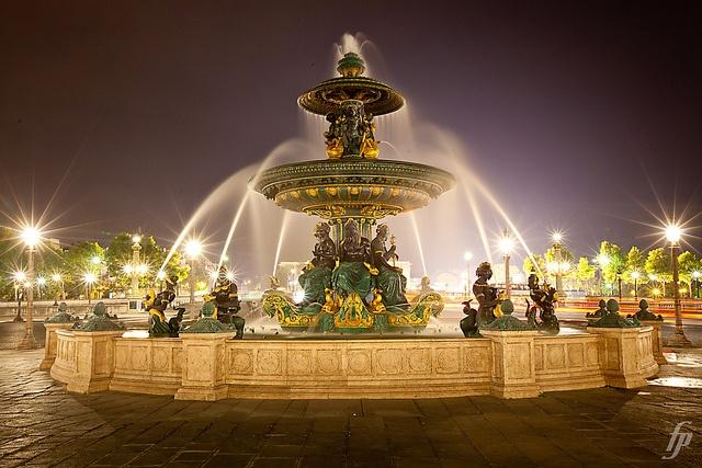 FONTAINES DE LA CONCORDE, PARIS, FRANCE