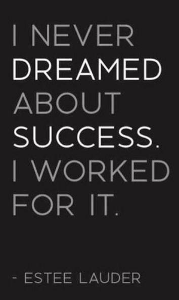 Work Hard!