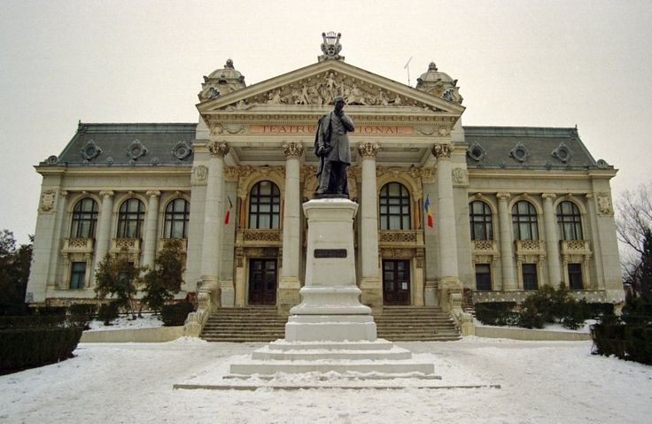 Iasi, Romania  National Theatre