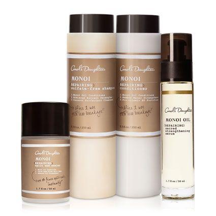 Natural Hair Care, Natural Beauty Products, Natural Skincare - Carol's Daughter - Monoi Ultimate Repair Set  #perfectperfected