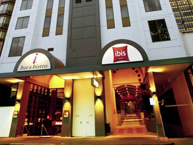 Melbourne ibis hotel (I can't remember anything about Melbourne..)