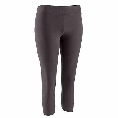 Pantaloni Fitness, Ginnastica, Danza - Corsari fitness donna neri DOMYOS - Abbigliamento palestra