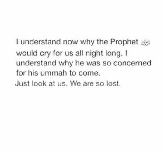 Ya Allah guide us all on the straight path, to you. Ameen