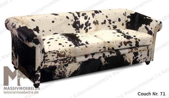 Sofa #01 3-Sitzer Kuhfell 1400€