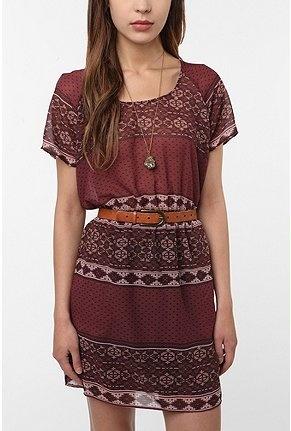 amazing colors: Urban Outfitters, Prints Dresses, Dreams Closet, Indian Dresses, Boho Dresses, Stars Silky, Silky Prints, Bedouin Dresses, Fall Dresses
