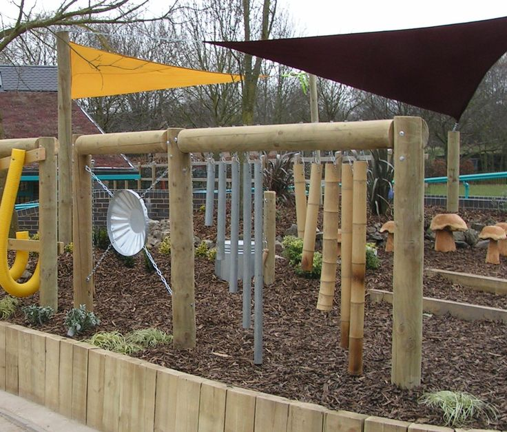 Sensory Gardens, children's garden idea..