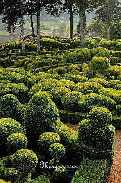Famous Gardens of the World - Gardens of Marqueyssac, France