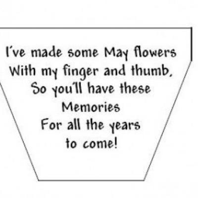 Preschool mothers day poems handprint flowers poem for Mother s day activities for preschoolers