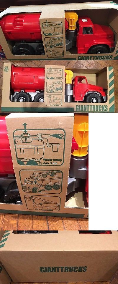 Vintage Manufacture 19034: New Androni Giocattoli Giant Fire Truck For Kids Ages 3+ Large Toy 2.5 Ft Long! -> BUY IT NOW ONLY: $100.99 on eBay!