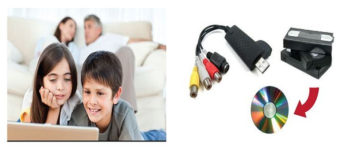 $19 for a USB 2.0 VHS to DVD Converter