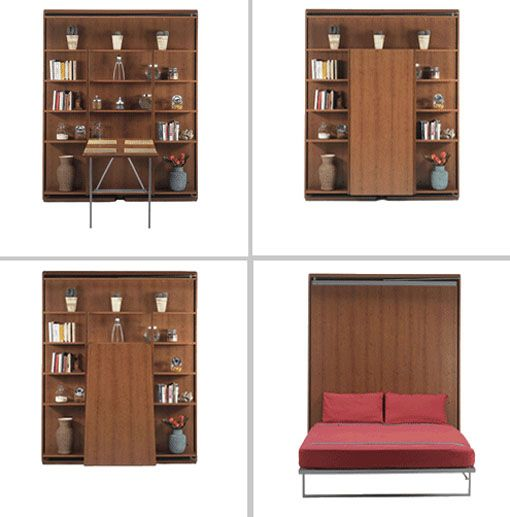 17 best images about furniture transforming on pinterest small space furniture space saving - Small spaces furniture ideas pict ...