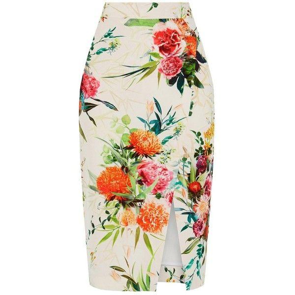 Best 25  Floral pencil skirt ideas on Pinterest   Pencil skirts ...