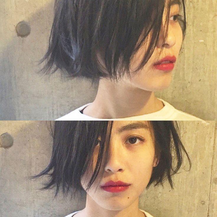 bibito TSUJII&NAGAIさんのヘアカタログ | アッシュ,パーマ,黒髪,ダークカラー,外ハネ | 2016.03.14 00.04 - HAIR