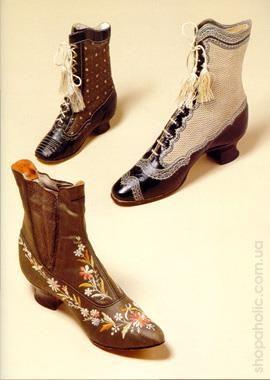 Мужская обувь 19 век