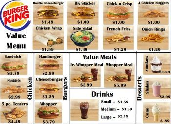Burger+King+menu+and+worksheetThis+menu+is+included+in+my+Menu+Math+Binder+Product++click+here